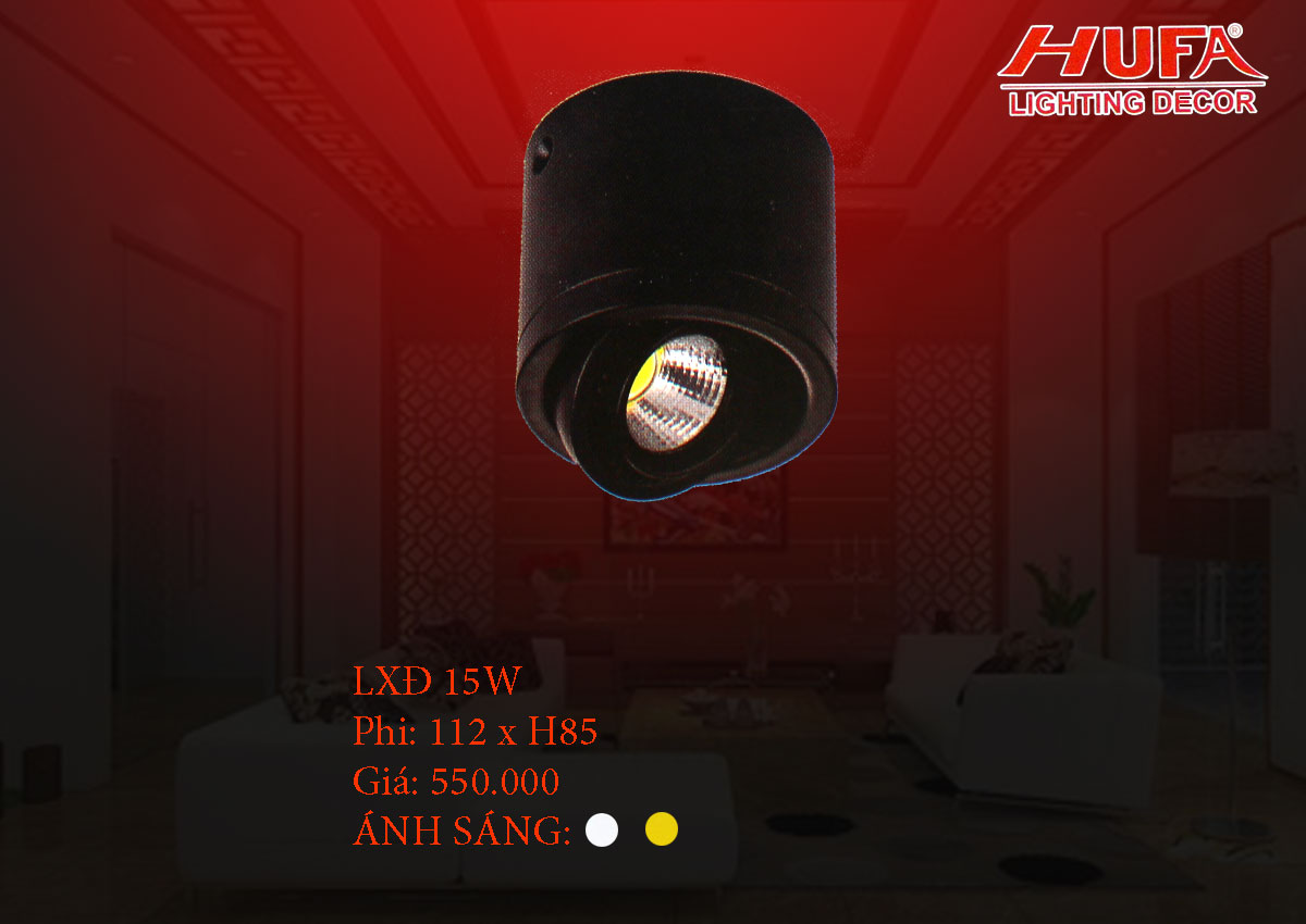 Đèn chiếu điểm cao cấp HUFA LXĐ 15W