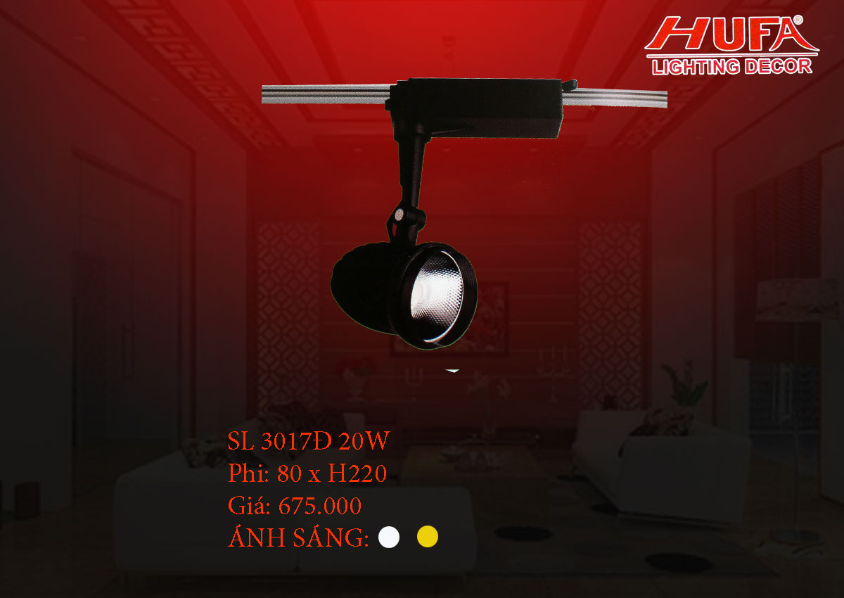 Đèn chiếu điểm cao cấp HUFA SL 3017Đ 20W