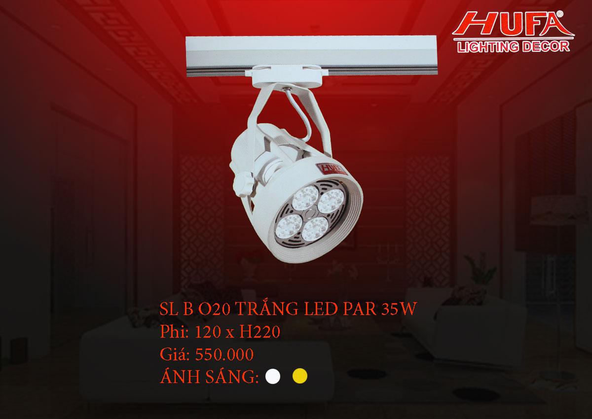 Đèn chiếu điểm cao cấp HUFA SL B O20 trắng led par 35W